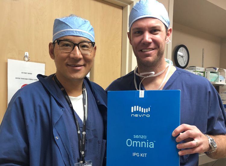 Dr. Tien implants first Omnia System in Oregon