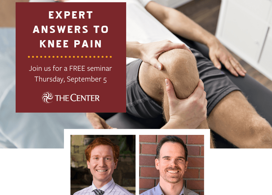 Expert Answers to Knee Pain