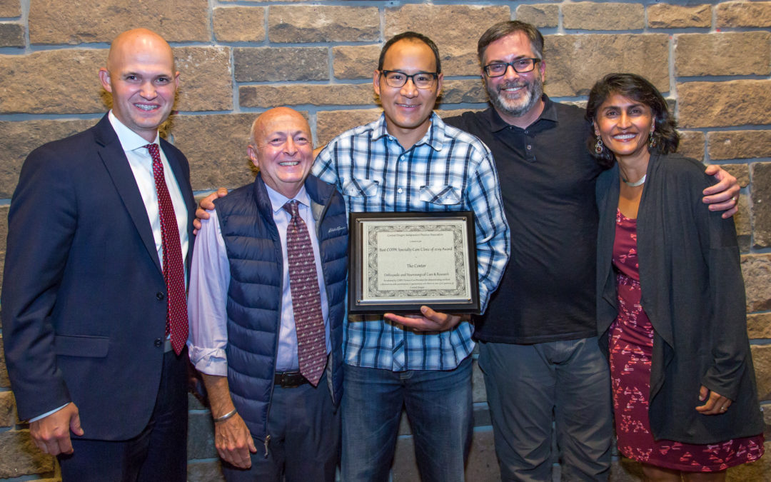 The Center named Specialty Clinic of the Year