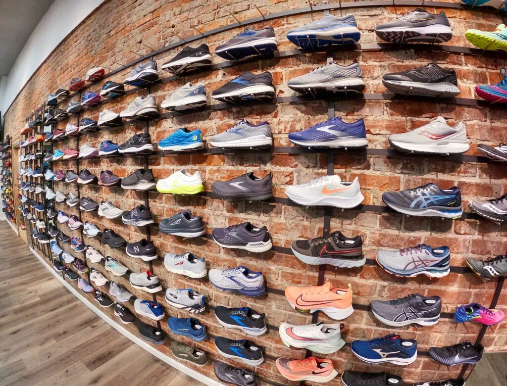 Choosing the right fit in running and walking shoes